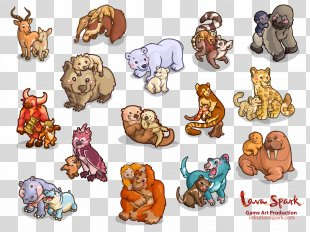 Animal Cat Lion Zoo Clip Art - Cute Elephant PNG
