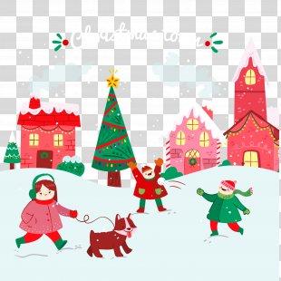 Snow Winter Euclidean Vector - Vector Illustration Christmas Snow PNG