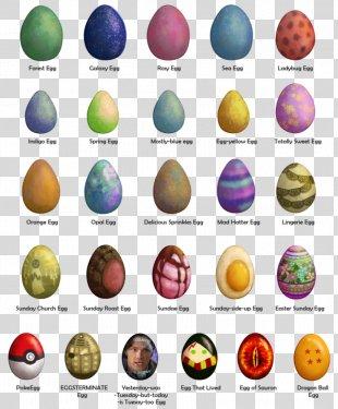Easter Egg Font - Easter Egg Hunt Flyer PNG