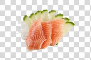 Sashimi Nobil Sushi Smoked Salmon Japanese Cuisine - Sushi PNG