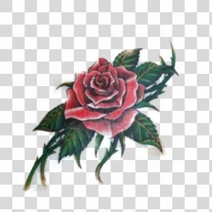 Sleeve Tattoo Rose Tattoo Drawing - Car Tattoo Sticker PNG