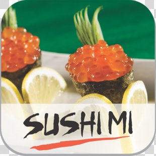 Sushi Food Vegetarian Cuisine Sashimi Restaurant - Sushi PNG