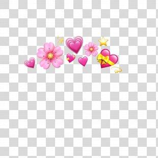 Emoji Heart Sticker Transparency - Emoji PNG