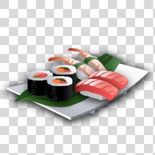 Sushi Japanese Cuisine Asian Cuisine Chinese Cuisine Makizushi - Sushi PNG