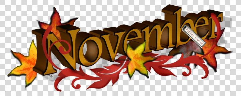 November Clip Art, November Cliparts PNG