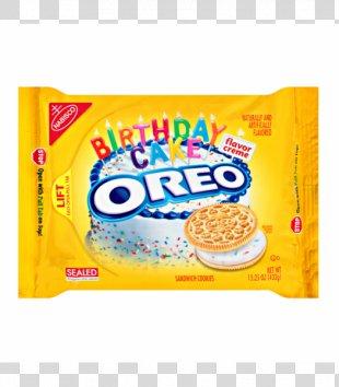 Ritz Crackers Cream Flavor Oreo Birthday Cake - Oreo Cookies PNG