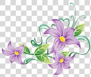 Flower Vector Graphics Clip Art Borders And Frames Drawing - Flower PNG