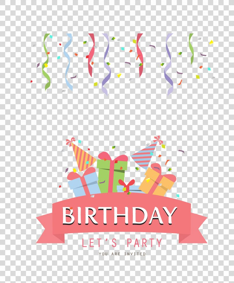 Birthday Invitation, Birthday Party PNG, Free Download