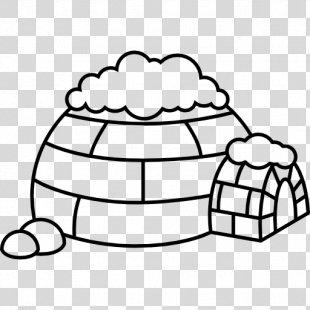 Igloo North Pole Clip Art - Igloo PNG