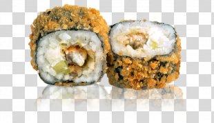 California Roll Sushi Makizushi Vegetarian Cuisine Cheese Roll - Sushi PNG