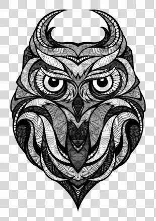 Owl Drawing Art Arctic Fox - Owl PNG