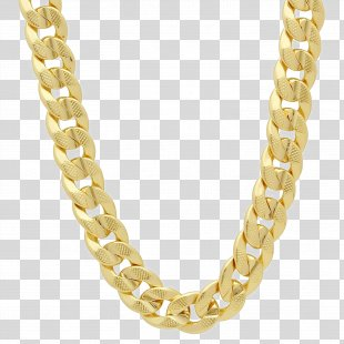 Chain Necklace Cubic Zirconia Gold Jewellery - Chain PNG