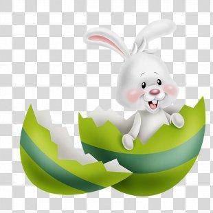 Easter Bunny Easter Egg Easter Postcard Easter Basket - Easter PNG