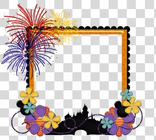 Art Picture Frames Flower Line Clip Art - Flower PNG
