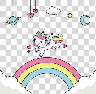 Unicorn Vector Graphics Rainbow Drawing - Unicorn PNG