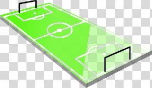 Football Pitch Clip Art Athletics Field - Football Field Lawn PNG