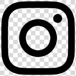 Black Instagram Logo - Flat PNG