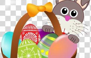 Easter Bunny Easter Basket Egg Hunt Easter Egg - Easter PNG