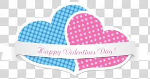 IPhone 6 Plus Valentine's Day Clip Art - Two Valentine's Day Hearts PNG Clip Art Imag PNG