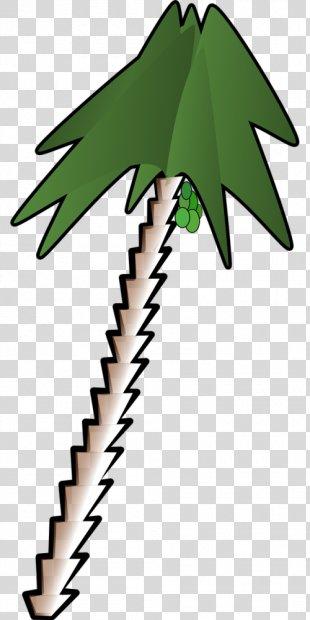 Clip Art Vector Graphics Openclipart Free Content - Clip Art Coconut Tree PNG