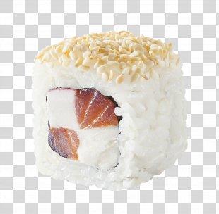 California Roll Sushi Makizushi Smoked Salmon Japanese Cuisine - Sushi PNG
