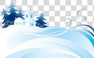 Snow Winter Euclidean Vector - Winter Snow Snow Vector Material PNG
