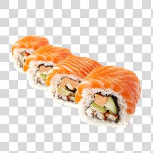 Makizushi Sushi Unagi California Roll Tobiko - Sushi PNG