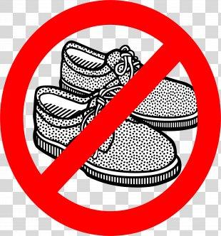 Clip Art Shoe Illustration Vector Graphics Openclipart - No Shoe PNG