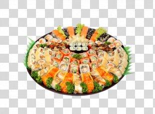 Sushi Makizushi Japanese Cuisine California Roll Sashimi - Sushi PNG