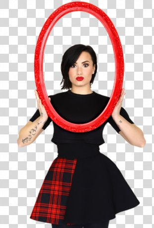 Demi Lovato Celebrity Stars Photo Shoot - Stay Strong PNG