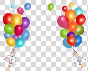 Birthday Cake Party Balloon Clip Art - Balon PNG