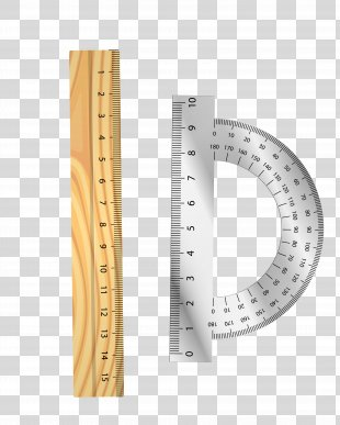 Protractor Amazon.com Set Square Degree Ruler - Vector Yellow Silver Teaching Tool Ruler Round Ruler PNG