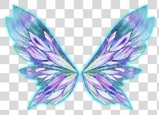 Bloom Musa Flora Stella Tecna - Fairy Wings PNG