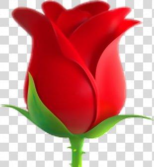 Emoji Rose Symbol Emoticon Sticker - Emoji PNG