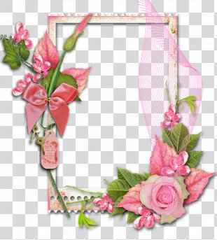 Picture Frames Flower Garden Roses Decorative Arts Photography - FLOWER FRAME PNG