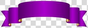 Banner Paper Clip Art - Purple Banner Transparent Clip Art Image PNG