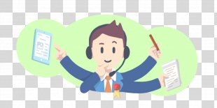 Clip Art Illustration Image Empathy Cartoon - Clip Art Call Centre PNG