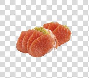 Sashimi Smoked Salmon Japanese Cuisine Sushi Lox - Sashimi PNG