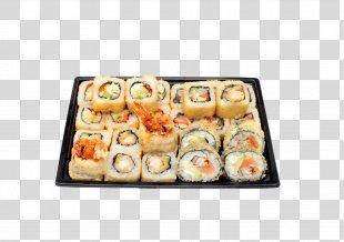 Sushi Pizza California Roll Japanese Cuisine Makizushi - Sushi PNG