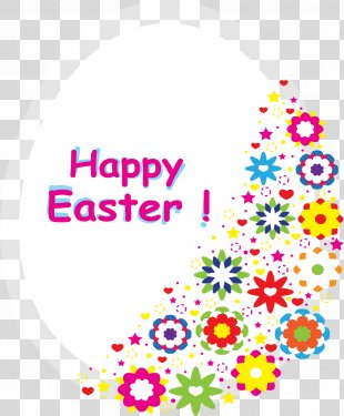 Easter Bunny Birthday Easter Egg - Happy Easter! PNG