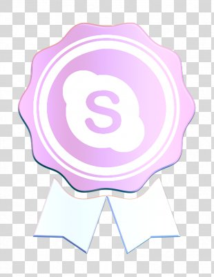 Call Icon Communication Icon Skype Icon - Logo Purple PNG