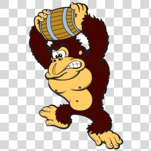 Donkey Kong Country Donkey Kong: Barrel Blast Donkey Kong Jr. Pac-Man - Donkey PNG