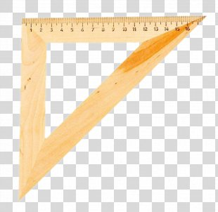 Plastic Ruler Icon - Triangle Ruler PNG