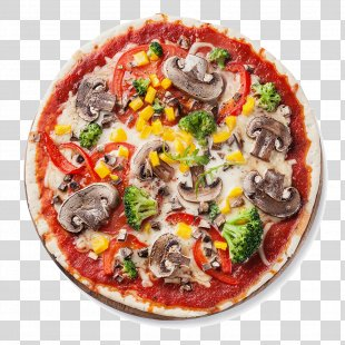 Detroit-style Pizza Italian Cuisine New York-style Pizza Vegetarian Cuisine - Pizza Slice PNG