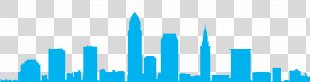 Cleveland Skyline Art Silhouette - Skyline PNG