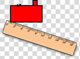 Straightedge Ruler Pencil - Design PNG