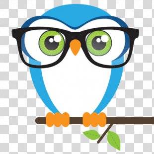 Owl Bird Glasses Cross-stitch Clip Art - Owl PNG