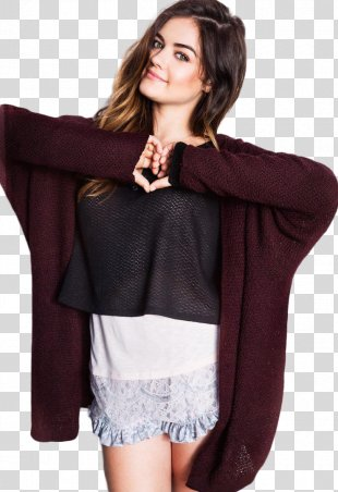 Lucy Hale Pretty Little Liars Aria Montgomery Photo Shoot Fashion - Pretty Little Liars PNG