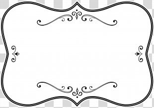 Borders And Frames Picture Frames Black And White Clip Art - White Frame PNG