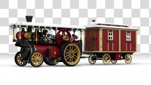 Steam Engine Motor Vehicle Lego Ideas Lego Trains - Steam Tractor PNG